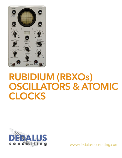 Rubidium Frequency Control Devices Report